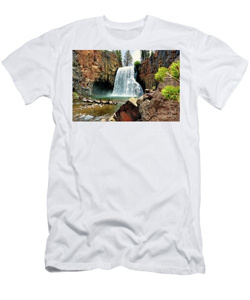 Rainbow Falls 15 Men's T-Shirt (Athletic Fit)