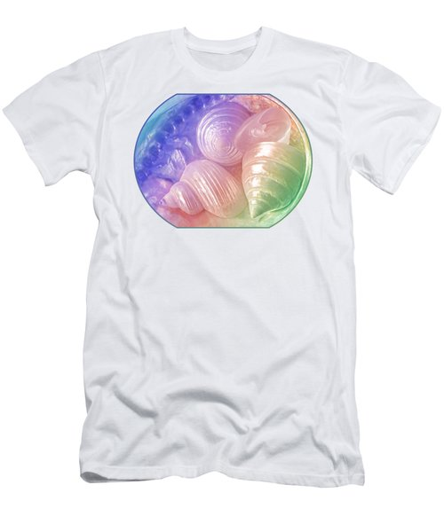 Rainbow Pearl Treasure Men's T-Shirt (Athletic Fit)