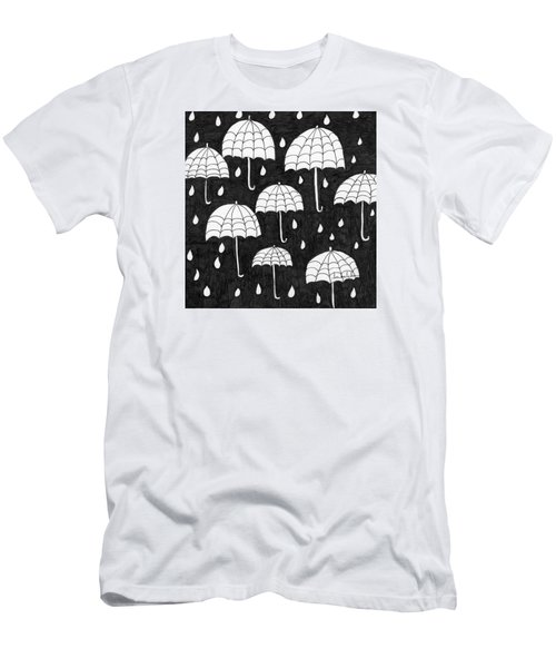 Raindrops Men's T-Shirt (Athletic Fit)