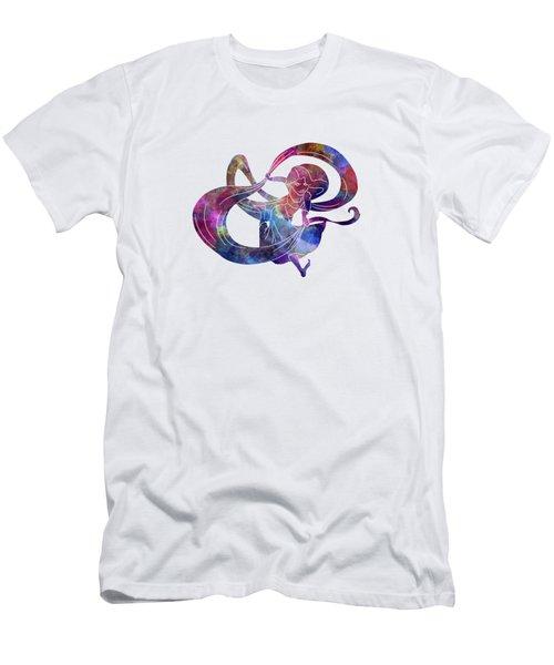 Rapunzel 03 In Watercolor Men's T-Shirt (Athletic Fit)
