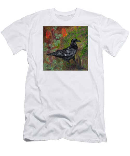 Raven In Columbine Men's T-Shirt (Athletic Fit)