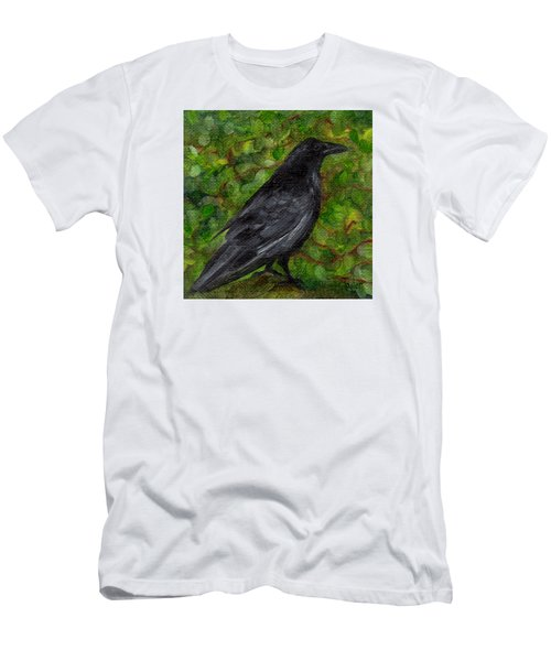 Raven In Wirevine Men's T-Shirt (Athletic Fit)