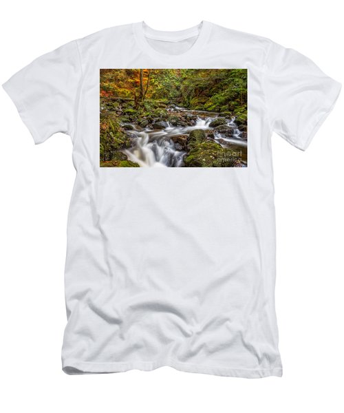 Cascades And Waterfalls Men's T-Shirt (Athletic Fit)