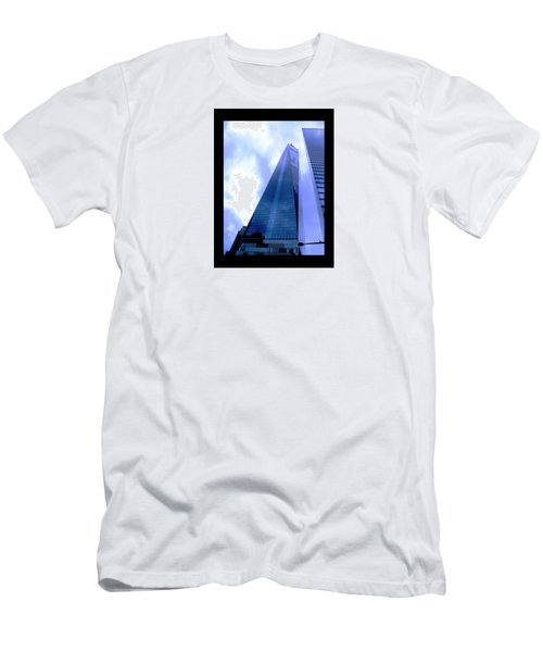 Reach For The Sky. Men's T-Shirt (Athletic Fit)