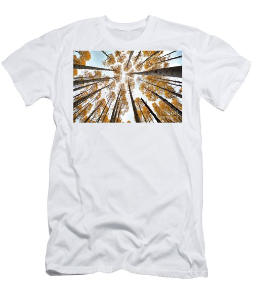 Reaching The Sky Men's T-Shirt (Athletic Fit)