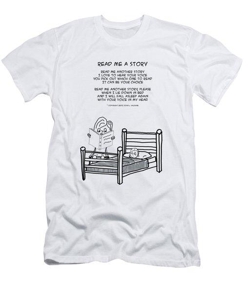 Read Me A Story Men's T-Shirt (Athletic Fit)