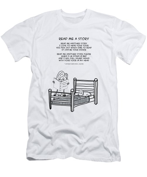 Read Me A Story Men's T-Shirt (Athletic Fit)