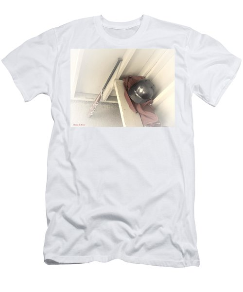 Men's T-Shirt (Slim Fit) featuring the photograph Ready To Bat by Shana Rowe Jackson