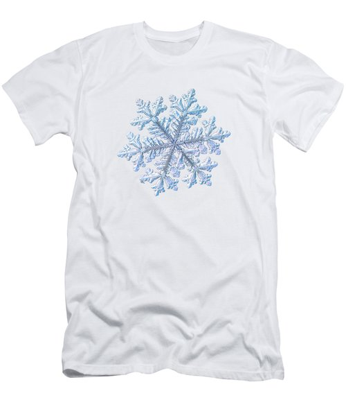 Real Snowflake - Hyperion White Men's T-Shirt (Athletic Fit)