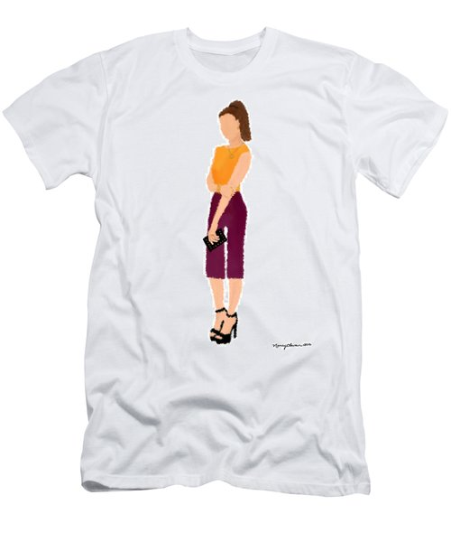 Men's T-Shirt (Slim Fit) featuring the  Rebecca by Nancy Levan