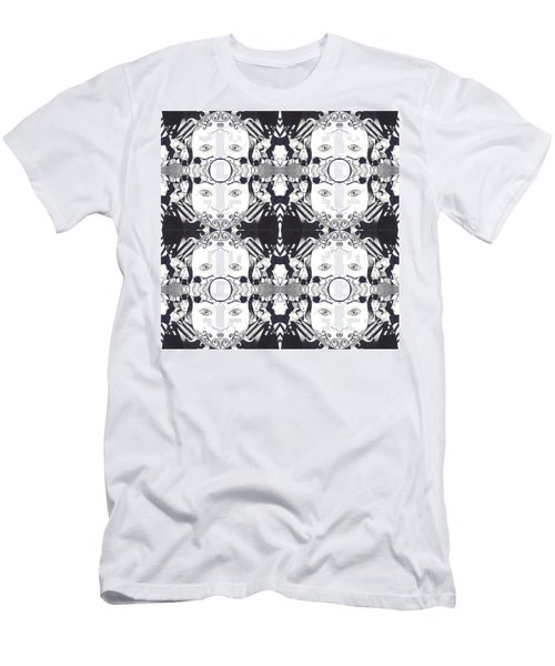 Recalling The Goddess 2 Tile Men's T-Shirt (Athletic Fit)