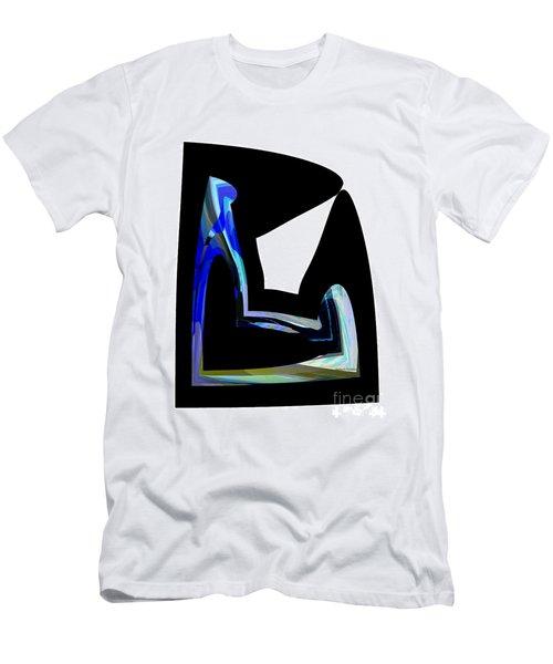 Recline Men's T-Shirt (Slim Fit) by Thibault Toussaint