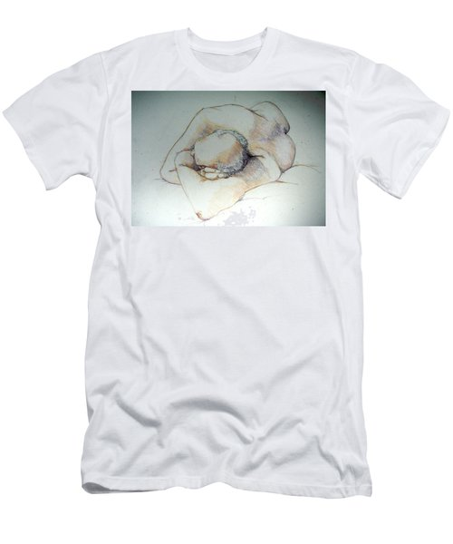 Reclining Study 3 Men's T-Shirt (Athletic Fit)