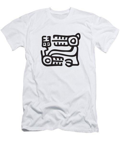 Recuay Culture Motif Men's T-Shirt (Athletic Fit)