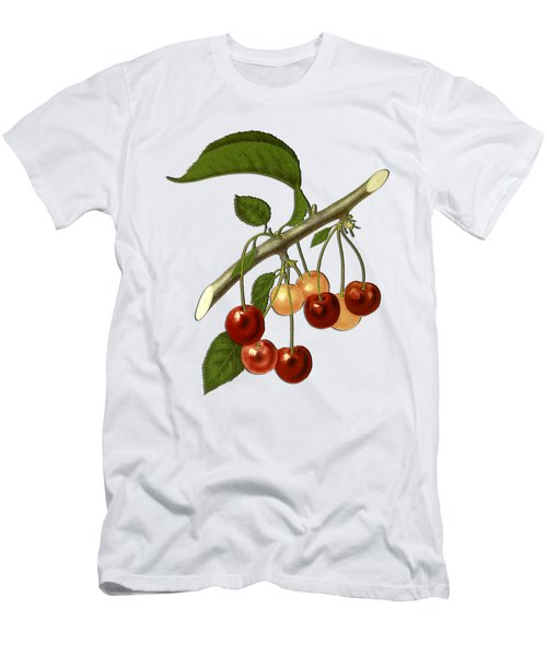 Red Cherries Men's T-Shirt (Athletic Fit)