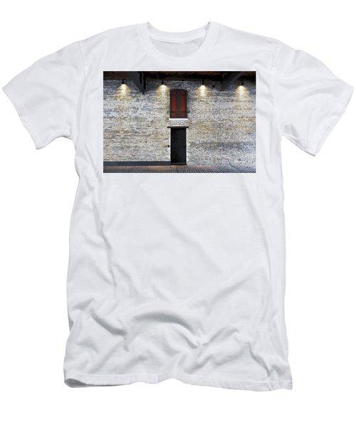 Red Door Men's T-Shirt (Slim Fit) by David Blank