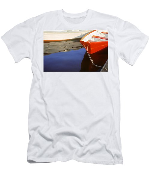 Red Dory Photo Men's T-Shirt (Slim Fit) by Peter J Sucy