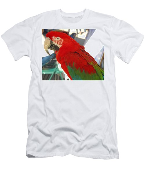Red Head Men's T-Shirt (Athletic Fit)