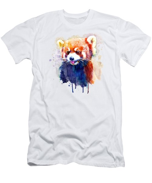 Red Panda Portrait Men's T-Shirt (Athletic Fit)