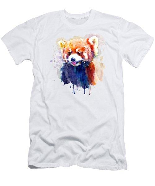 Red Panda Portrait Men's T-Shirt (Athletic Fit)
