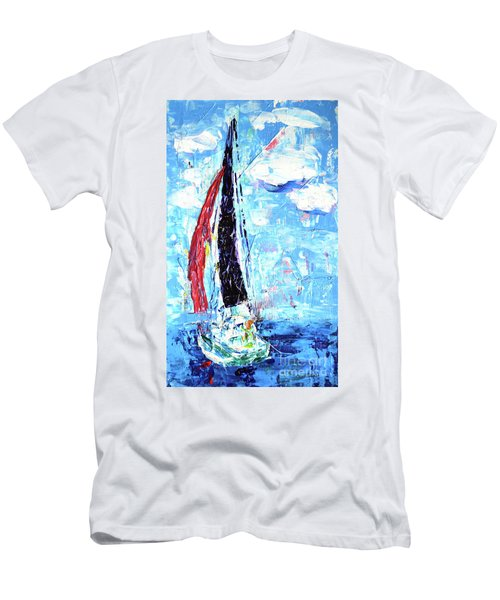 Red Sail Men's T-Shirt (Athletic Fit)