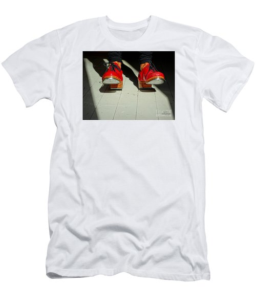 Red Tap Shoes Men's T-Shirt (Athletic Fit)