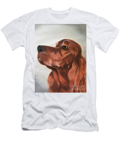 Red The Irish Setter Men's T-Shirt (Athletic Fit)