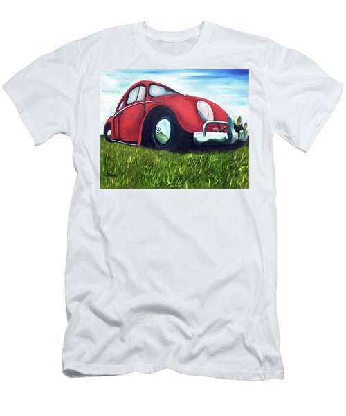 Red Vw Men's T-Shirt (Athletic Fit)