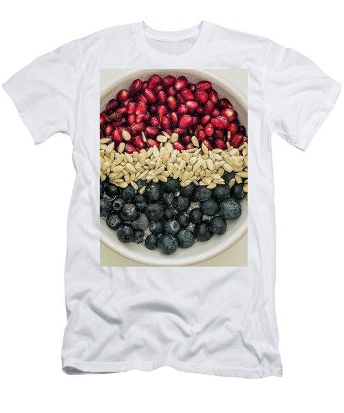 Red White Blue Power Breakfast Men's T-Shirt (Athletic Fit)