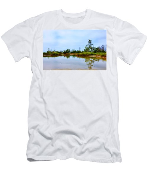 Englewood Beach Men's T-Shirt (Athletic Fit)