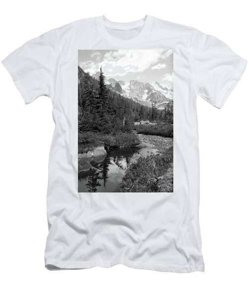 Reflected Pine Men's T-Shirt (Athletic Fit)