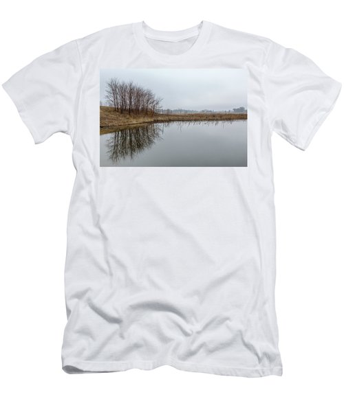 Reflected Trees Men's T-Shirt (Athletic Fit)