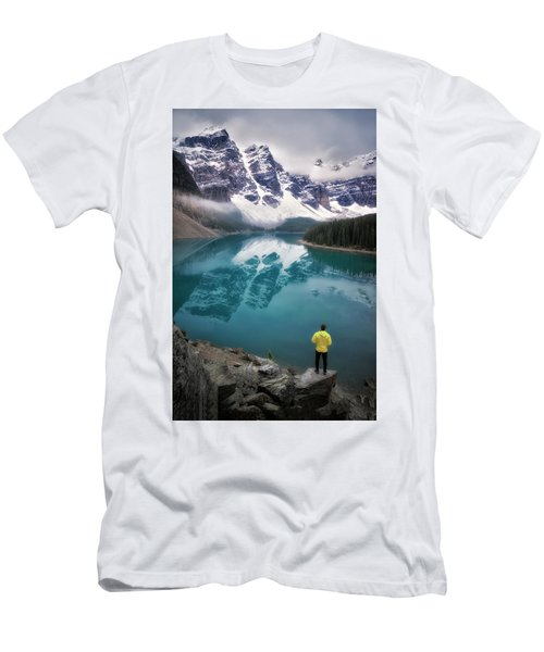 Reflecting On Reflections Men's T-Shirt (Slim Fit) by Nicki Frates
