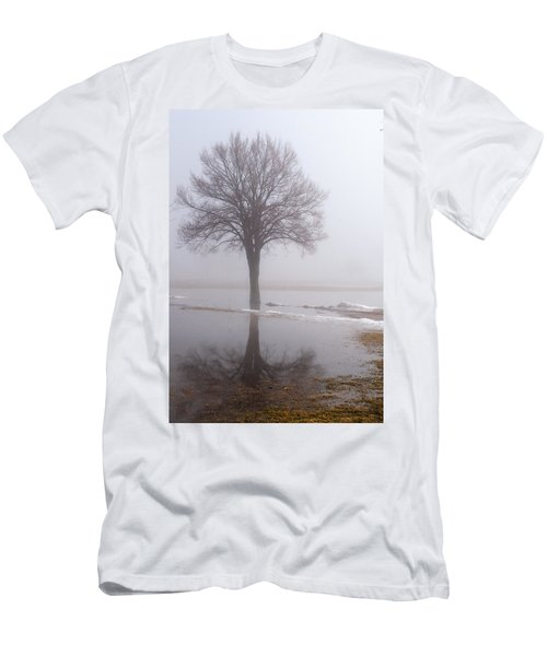 Reflecting Tree Men's T-Shirt (Athletic Fit)
