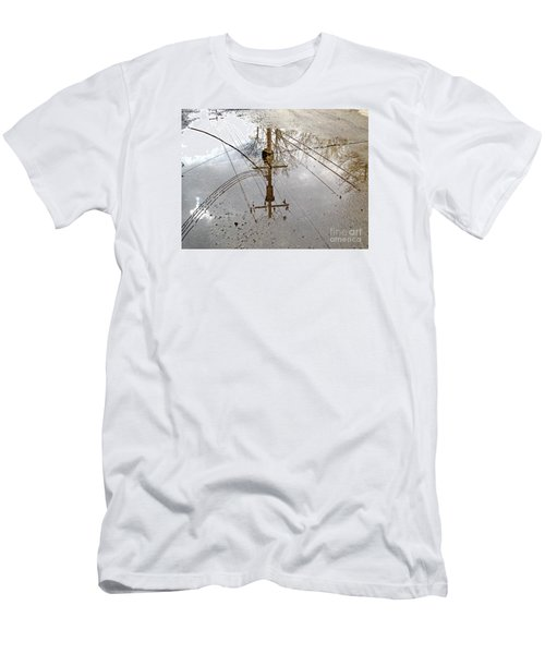 Puddle Reflections  Men's T-Shirt (Athletic Fit)