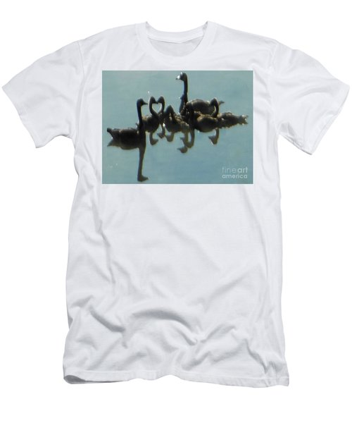 Reflection Of Geese Men's T-Shirt (Athletic Fit)