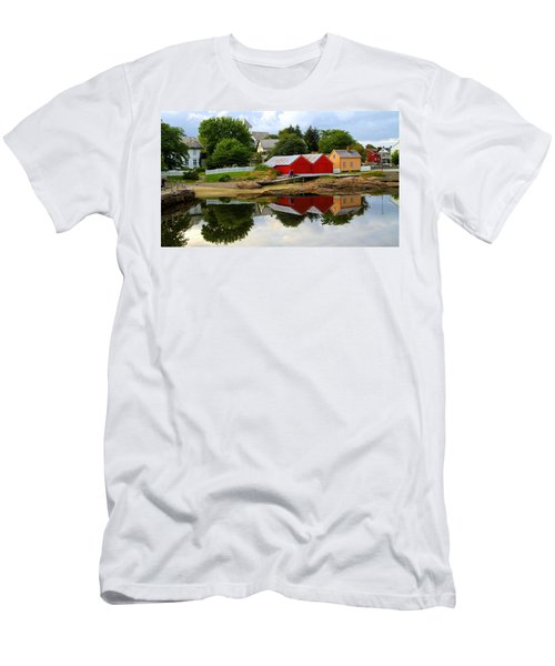 Reflections In Rorvik Men's T-Shirt (Athletic Fit)