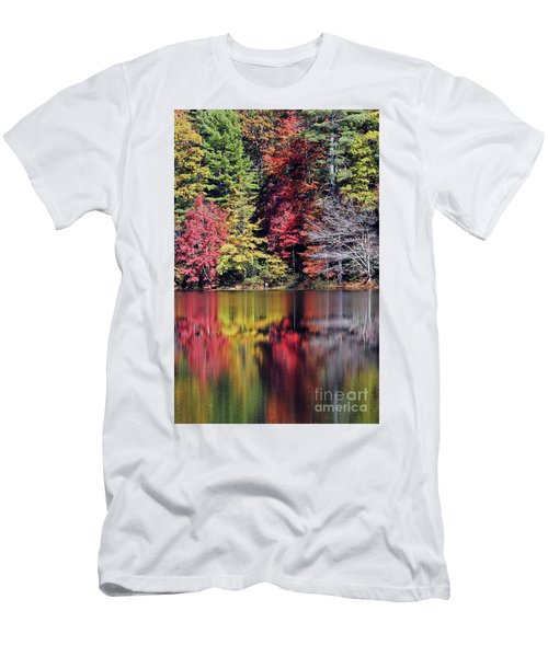 Reflections Of A Bare Tree Men's T-Shirt (Athletic Fit)