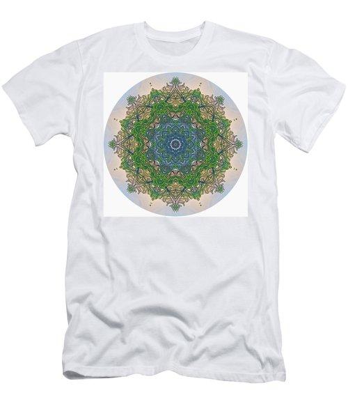 Reflections Of Life Mandala Men's T-Shirt (Athletic Fit)