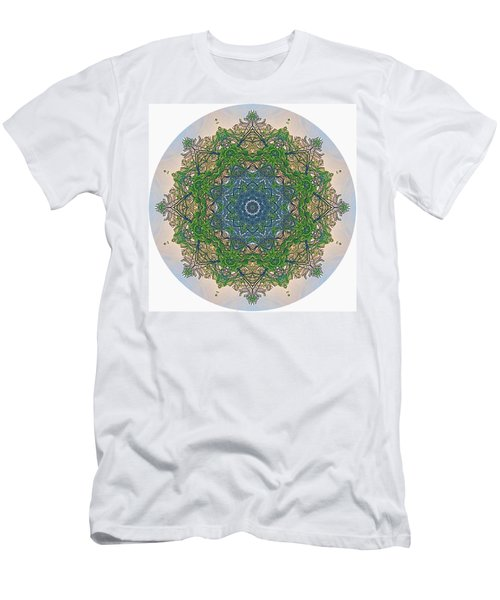 Reflections Of Life Mandala Men's T-Shirt (Athletic Fit)