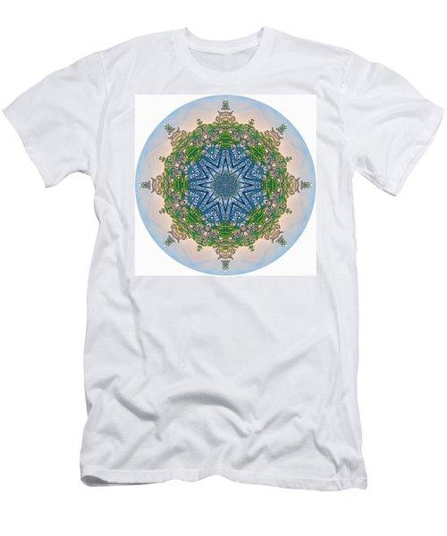 Reflections Of Life Mandala 2 Men's T-Shirt (Athletic Fit)