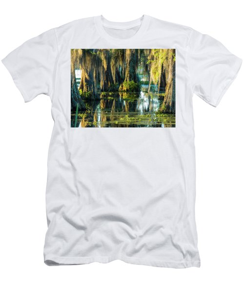 Reflections Of The Times Men's T-Shirt (Slim Fit) by Kimo Fernandez