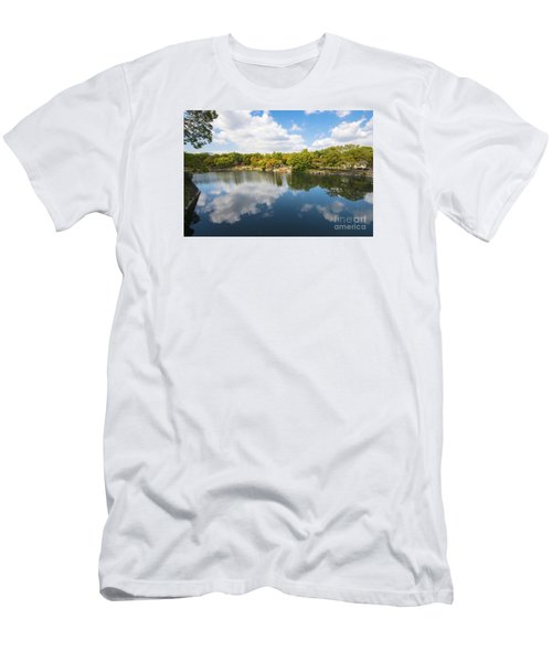 Men's T-Shirt (Slim Fit) featuring the photograph Reflections by Pravine Chester
