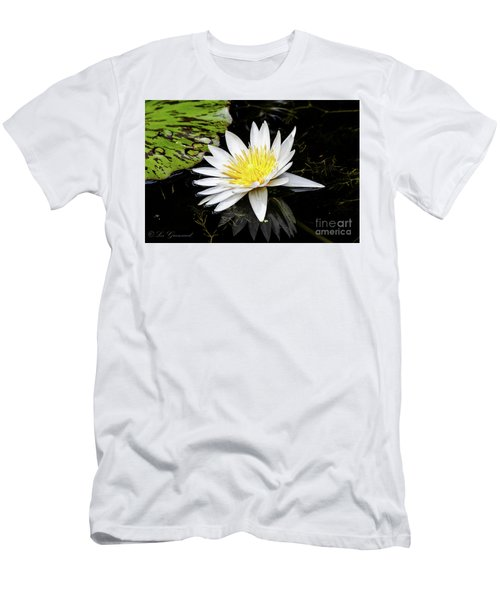 Reflective Lily Men's T-Shirt (Athletic Fit)