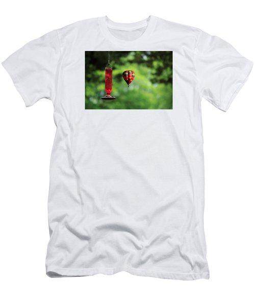 Refueling Men's T-Shirt (Slim Fit) by Don Gradner