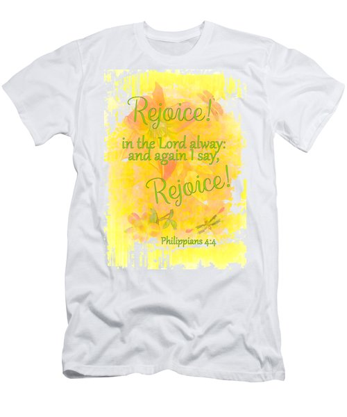 Rejoice Men's T-Shirt (Athletic Fit)