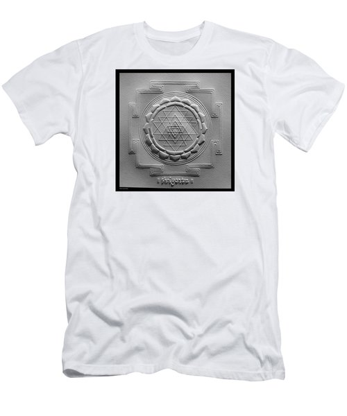 Relief Shree Yantra Men's T-Shirt (Slim Fit) by Suhas Tavkar