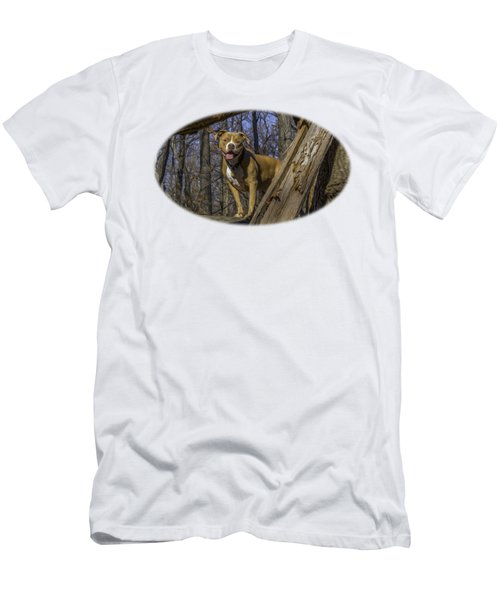 Remy In Tree Oil Paint For Shirts Mainly Men's T-Shirt (Slim Fit)