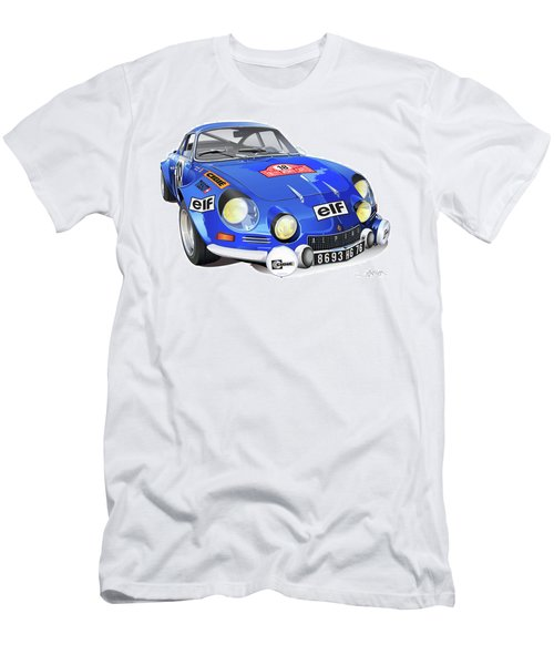 Alpine Renault A110 Men's T-Shirt (Athletic Fit)