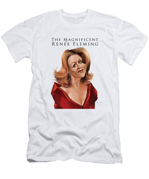 Renee Fleming - No Background Men's T-Shirt (Athletic Fit)